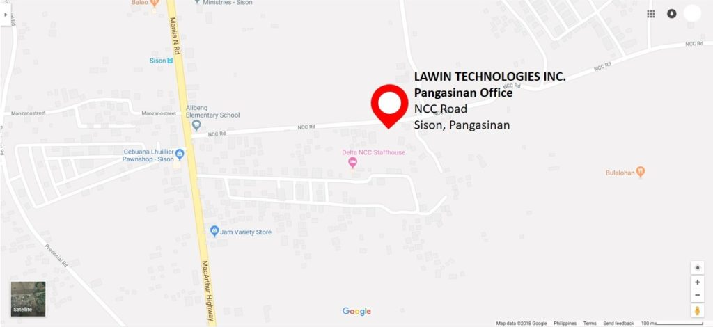 Lawin Technologies Inc. Pangasinan Office