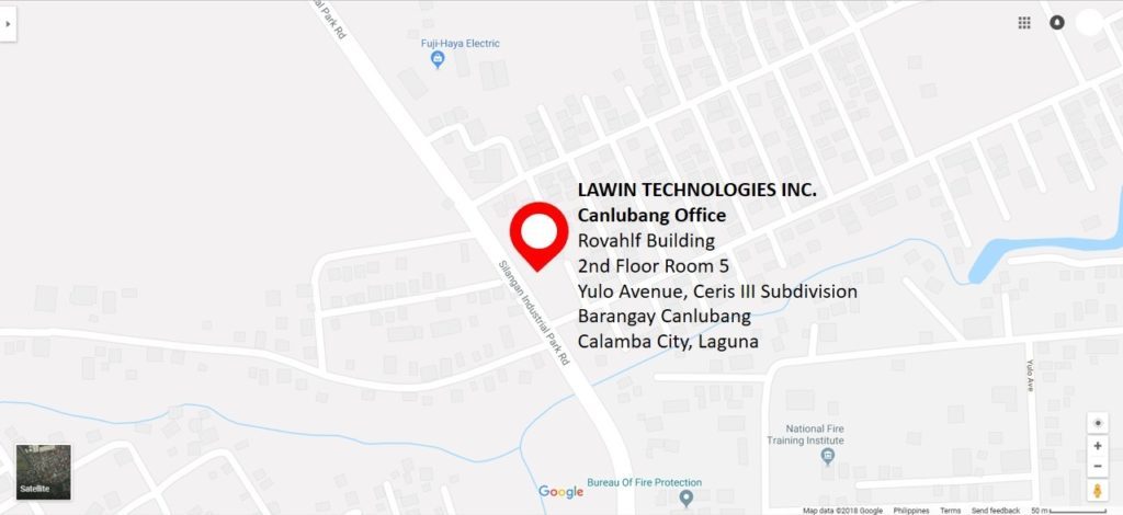 Lawin Technologies Inc. Canlubang Office